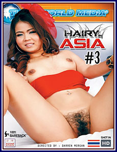 Hairy in Asia 3 Porn DVD