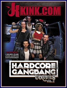 Hardcore Gangbang Parodies 2 Porn DVD