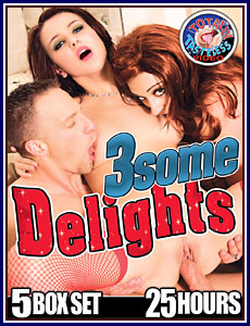 3Some Delights 25 Hours 5-Pack Porn DVD