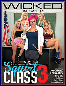 Axel Braun's Squirt Class 3 Porn DVD