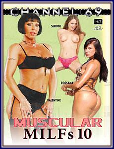 Muscular MILFs 10 Porn DVD