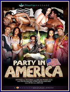 Party In America Porn DVD