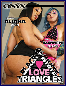 Black and White Love Triangles Porn DVD