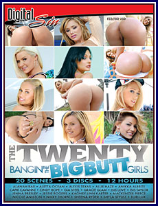 The Twenty: Bangin' The Big Butt Girls Porn DVD