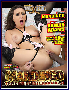 Mandingo The King of Interracial 5 Porn DVD