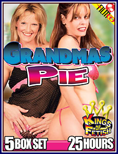 Grandmas Pie 25 Hours 5-Pack Porn DVD