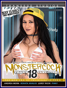 Monster Cock Trans Takeover 18 Porn DVD