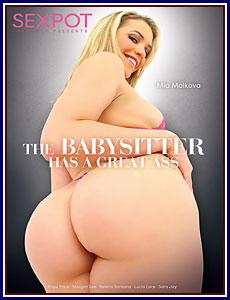 The Babysitter Has A Great Ass Porn DVD