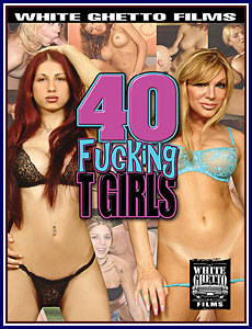 40 Fucking T Girls Porn DVD