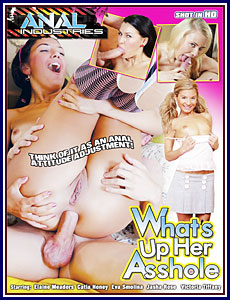 What's Up Her Asshole Porn DVD