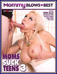 Moms Suck Teens 3 Porn DVD