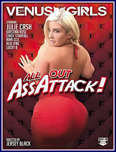 All Out Ass Attack Porn DVD