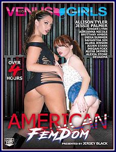 American Femdom Porn DVD