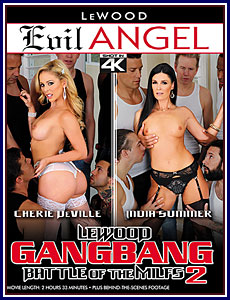 LeWood Gangbang: Battle of the MILFs 2 Porn DVD