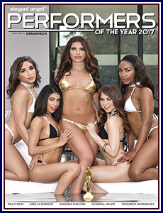 Performers of The Year 2017 Porn DVD