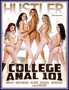 College Anal 101 Porn DVD