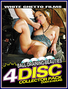 Ball Draining Beauties Collector 4-Pack Porn DVD