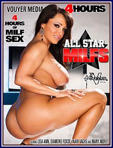 All Star MILFs Porn DVD