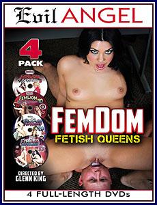 FemDom Fetish Queens 4-Pack Porn DVD