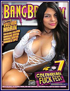 Colombian Fuckfest 7 Porn DVD