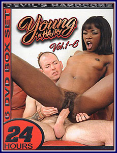 Young 'N Hairy Volumes 1-6 Porn DVD