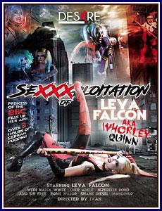 Sexxxploitation of Leya Falcon AKA Whorley Quinn Porn DVD