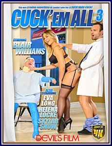 Cuck 'Em All 3 Porn DVD