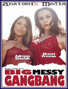Big Messy Gangbang Porn DVD