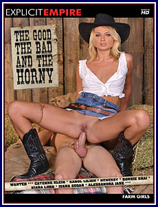 The Good The Bad and The Horny Porn DVD