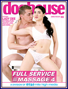 Full Service Massage 4 Porn DVD