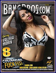 Colombian Fuckfest 8 Porn DVD