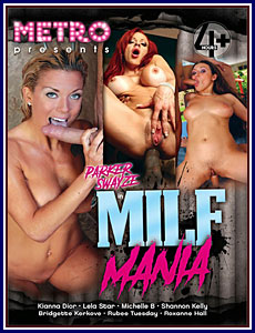 MILF Mania Porn DVD