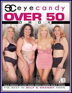 Over 50 Orgy Porn DVD
