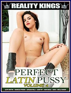 Perfect Latin Pussy 4 Porn DVD
