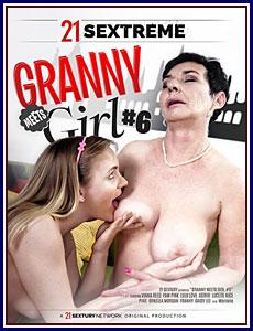 Granny Meets Girl 6 Porn DVD