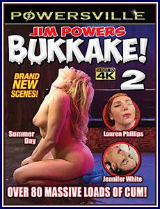 Jim Powers Bukkake 2 Porn DVD