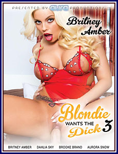 Blondie Wants The Dick 3 Porn DVD