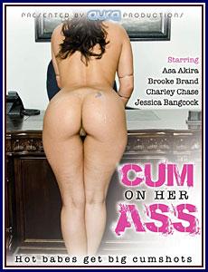 Cum On Her Ass Porn DVD