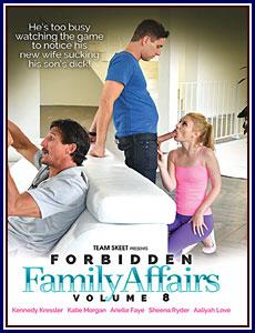 Forbidden Family Affairs 8 Porn DVD
