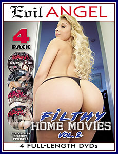 Filthy Home Movies 2 4-Pack Porn DVD