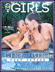 Girl On Girl: Foot Fetish Porn DVD