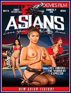 Asians Love You Long Time Porn DVD