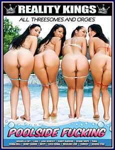 Poolside Fucking Porn DVD