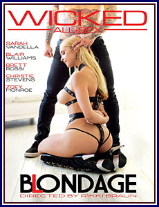 Blondage Porn DVD
