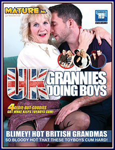 UK Grannies Doing Boys Porn DVD
