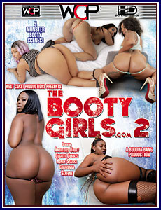 The Booty Girls.com 2 Porn DVD