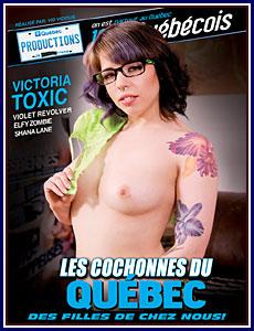 Les Cochonnes du Quebec Porn DVD