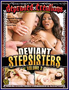 Deviant Stepsisters 2 Porn DVD
