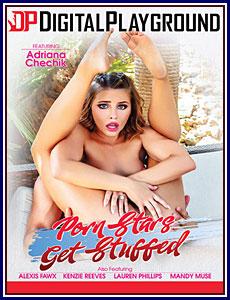 Porn Stars Get Stuffed Porn DVD