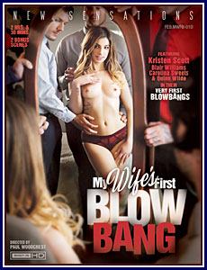 My Wife's First Blowbang Porn DVD